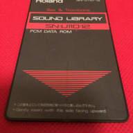 Roland U110 PCM DATA ROM Sound Card | Sax & Trombone SN U110 12 | D70 U220 Free Ship
