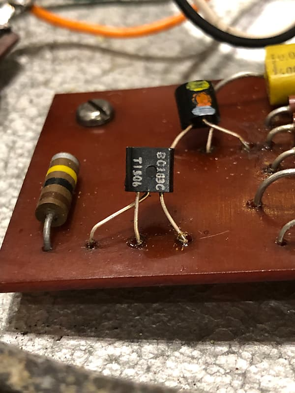 vintage 1970 39 s dallas arbiter fuzz face guitar pedal made reverb. Black Bedroom Furniture Sets. Home Design Ideas