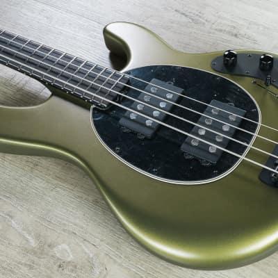 Ernie Ball Music Man BFR StingRay Special HH 4-String Bass, Dargie Delight, Ebony Fretboard - F77518