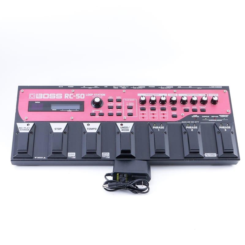 boss rc 50 loop station looper guitar effects pedal reverb. Black Bedroom Furniture Sets. Home Design Ideas
