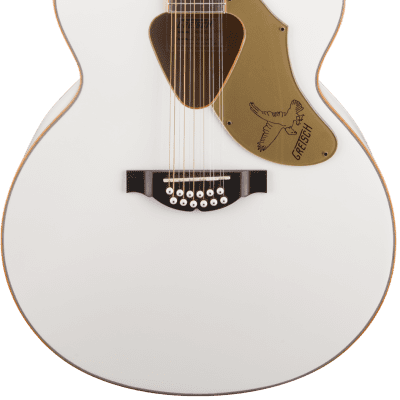 Gretsch G5022CWFE-12 Rancher Falcon Jumbo 12-String Cutaway White for sale