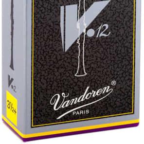 Vandoren CR1935+ V12 Series Bb Clarinet Reeds - Strength 3.5+ (Box of 10)