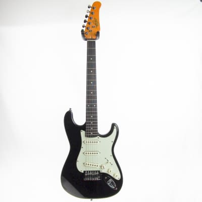 Oscar Schmidt OS30-B 3/4 Size Black like new with deluxe hardshell case, plays great! for sale