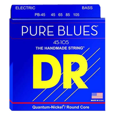 DR Strings Pure Blues Bass 45-105 w Quantum Nickel Alloy