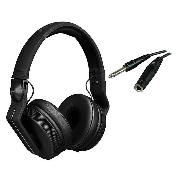 aa022379a64 Pioneer HDJ-700-K Pro DJ DJ Headphones (Black) and Cable   Reverb