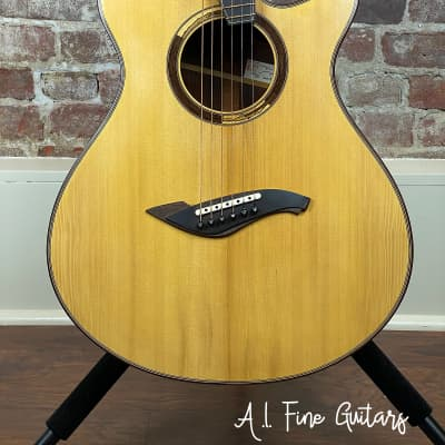 Rare custom one-of-a-kind Matsuda Twist guitar The Pinnacle of Acoustic Luthiery! for sale