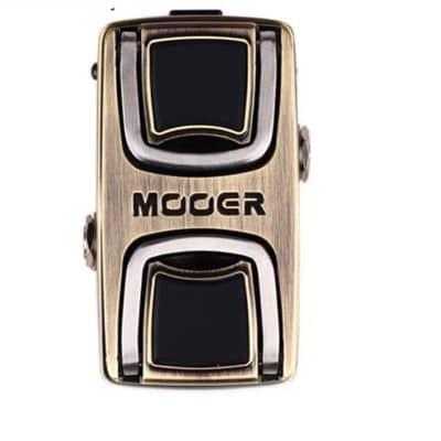 Mooer The Wahter Guitar Pedal Classic Wah Tone Mini Effect Pedal Dual Pressure Sensing Switch True B