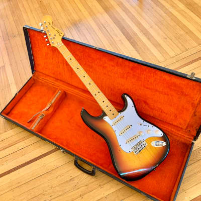 Tokai Silver star c 1970's Sunburst strat original vintage mij japan matsumoku for sale