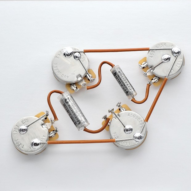 Les paul type wiring harness by jel k cts short