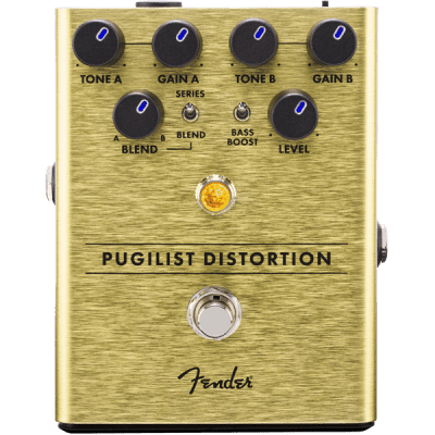 Fender Pugilist Distortion Pedal for sale