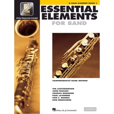 Essential Elements for Band - B-Flat Bass Clarinet | Book 1 (w/ EEi)