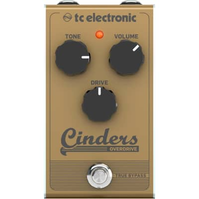 TC Electronic Cinders Overdrive Effects Pedal image