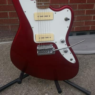 Dillion Jazzmaster Jaguar style offset electric guitar 2006 Red for sale