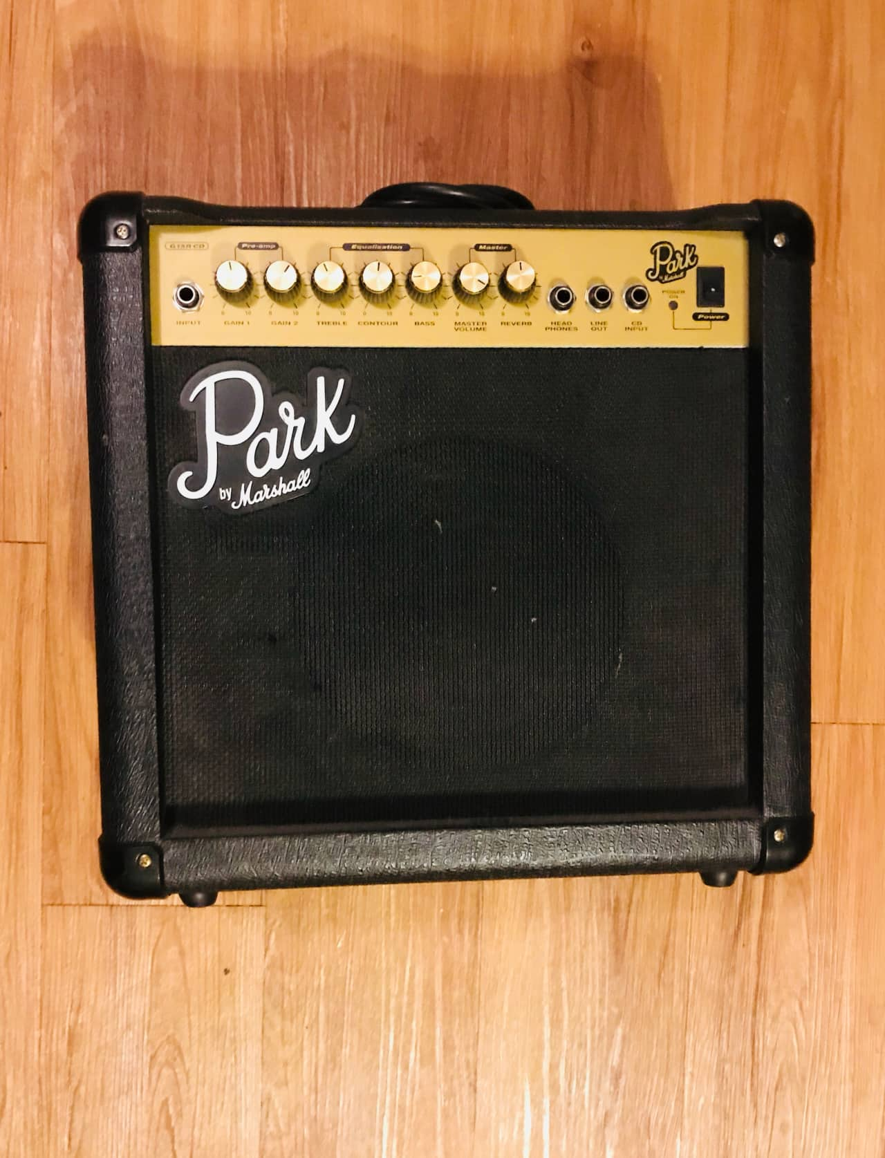 park g15rcd by marshall 1x8 15 watt combo amp reverb. Black Bedroom Furniture Sets. Home Design Ideas