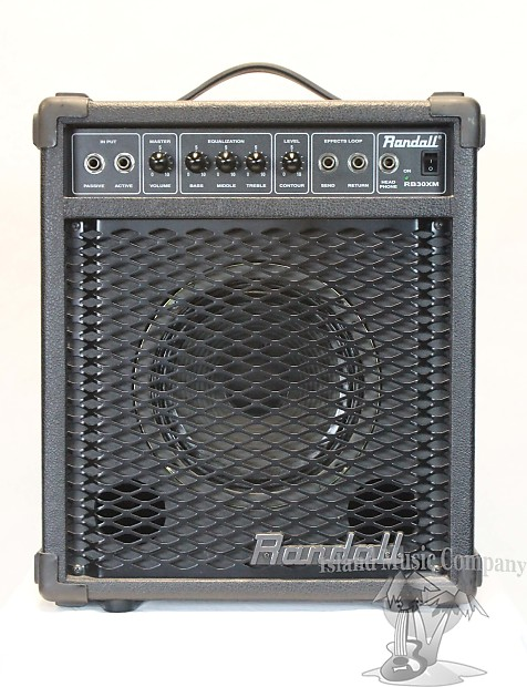 Randall RB30XM 30 Watt Bass Guitar Amplifier