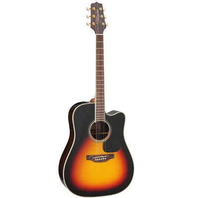 Takamine GD51CE Mahogany Dreadnought Cutaway Sunburst Electro Acoustic Guitar for sale