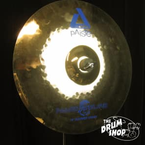 "Paiste 16"" Alpha Boomer Nicko McBrain Signature Crash Cymbal"