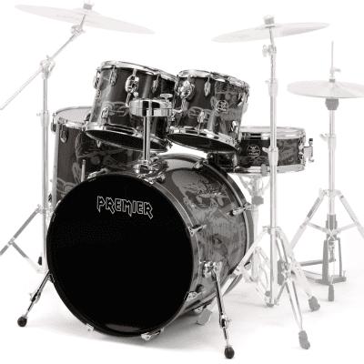 """Premier """"Spirit of Maiden"""" 5pc Birch Drum Set"""