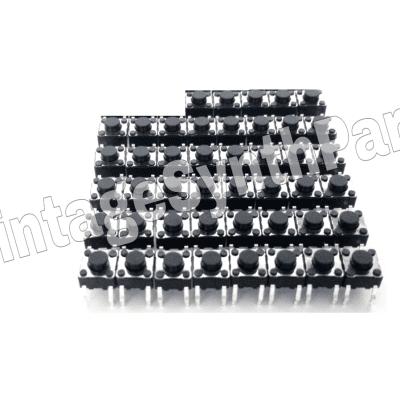 AKAI AX60 Full set of 45 panel switches NEW Microswitch AX-60