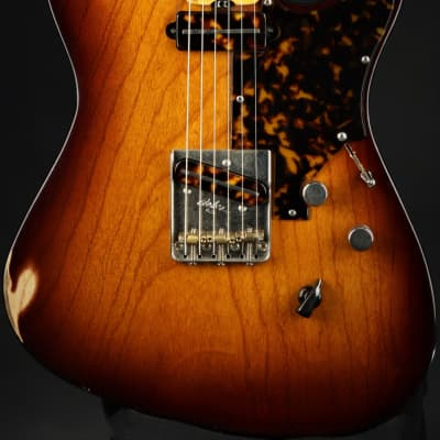 Asher T Deluxe - Tobacco Burst *VIDEO* for sale