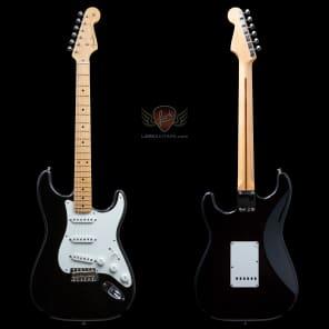 Fender American Vintage '56 Stratocaster - Black - BLEM (364) for sale