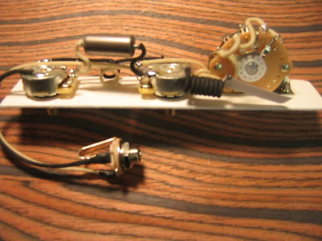 Wiring Harness For Telecaster 4 Way Mod Cts 047uf Russian Pio Oak 4
