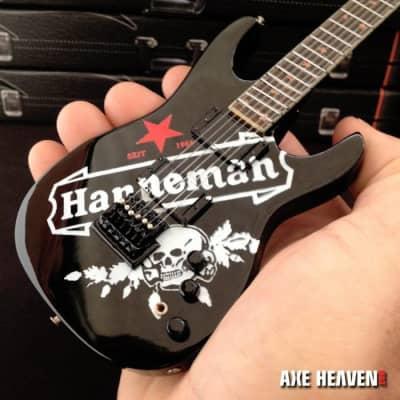 b0e402c6538 Axe Heaven Jeff Hanneman Red Star SEIT Tribute Mini Guitar Replica  Collectible