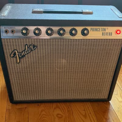 Fender Princeton Reverb  Silver face 1979 with Jensen C10S speaker for sale