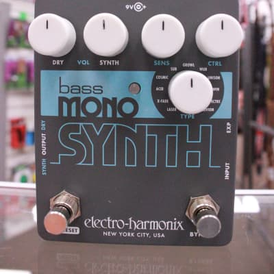 Electro-Harmonix Bass Mono Synth Bass Effects Pedal - Free shipping lower US!