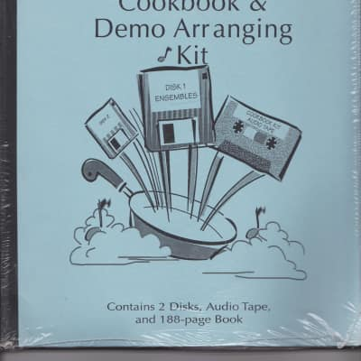 Katamar Entertainment Group KOrg X3 Cookbook & Demo Arranging KIt