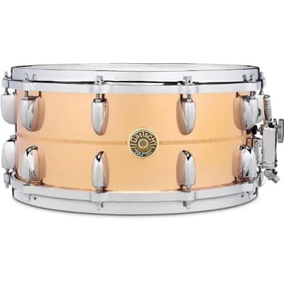 """Gretsch G4169B USA Bronze 6.5x14"""" 20-Lug Snare Drum"""