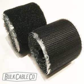 "VELCRO® Brand Fastener - 8 FT of 2"" Pedalboard Hook & Loop - Guitar Effects & Pedal Board FX Tape"