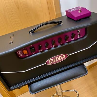 Head Budda SD-80 II Super Drive series II 2017 Black 220-240V EU  + Footswitch for sale