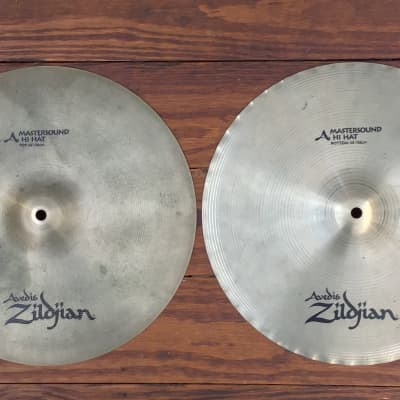 """USED Zildjian A 14"""" Mastersound Hi-Hat Cymbals (Pair)"""
