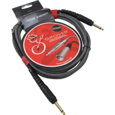 Grover GP210 10 Ft Braided Instrument Cable for sale
