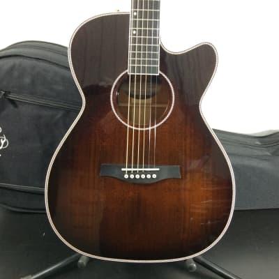 Seagull Artist Mosaic CH CW GT Anthem EQ Acoustic-Electric Guitar, Bourbon Burst w/ TRIC Case Return