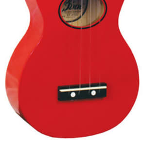 Eddy Finn EF-MN-RD Minnow Series Ukulele *Red* for sale