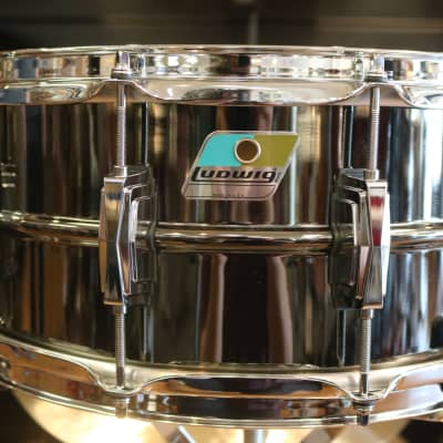 """Ludwig LB417 Black Beauty 6.5x14"""" Brass Snare Drum"""