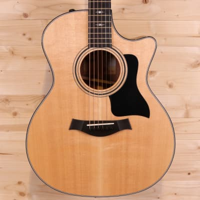 Taylor 314ce V-Class Bracing All Solid Sitka Spruce/Sapele 2018 Acoustic-Electric Guitar