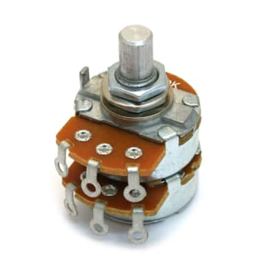 004-1266-000 Fender 500K Linear Dual Control Pot the Vibro-King® Custom
