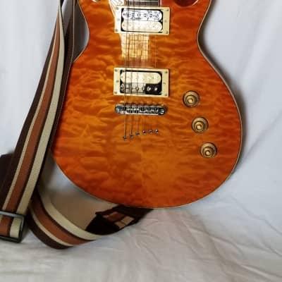 Mitchell MS400 Modern Single-Cutaway Electric Guitar Honey Burst for sale