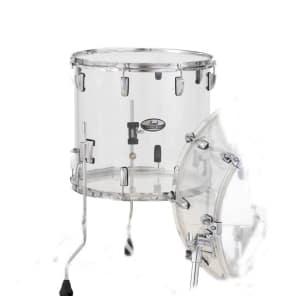 Pearl Crystal Beat Acrylic Floor Tom 14x13 Ultra Clear