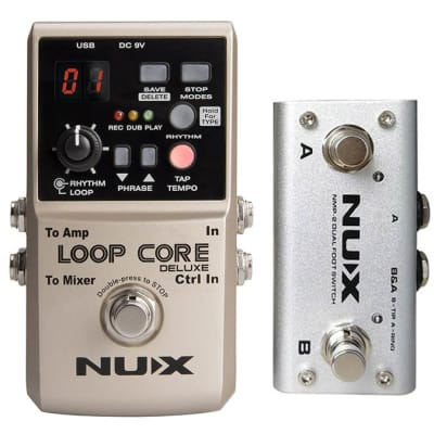 nuX Loop Core Deluxe Bundle inkl. NMP-2 Foot Switch