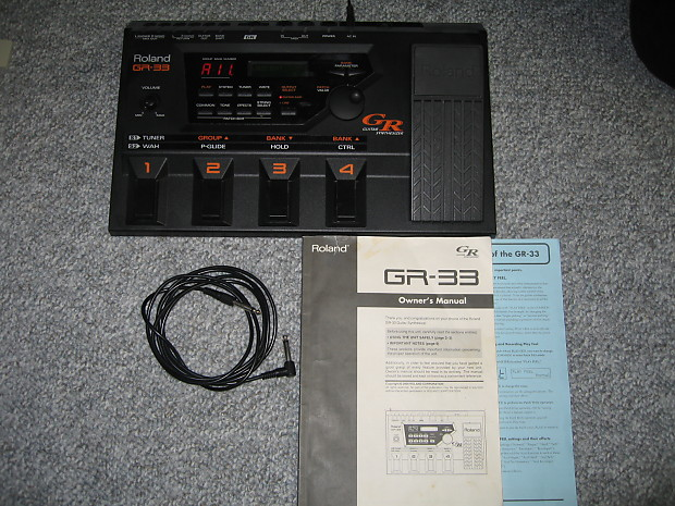 Roland gr-33 | synthesizer | guitars.