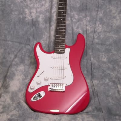 ASC/S101 Strat Style Electric Guitar (EFS-23)Ferrari Red-(LEFT HAND) 2007 Ferrari / Red for sale
