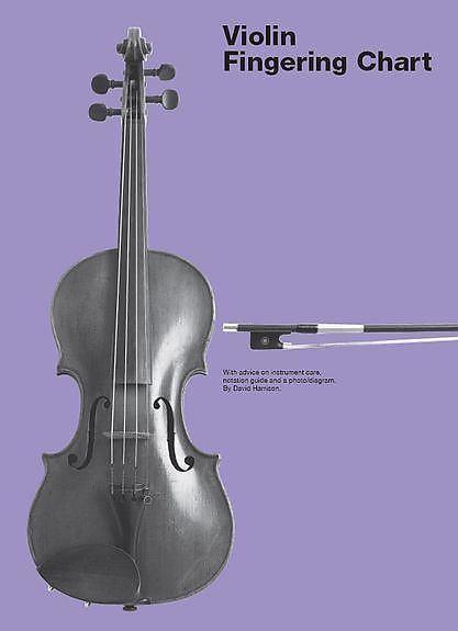 Violin Fingering Chart  FerrisS Gear Bazaar  Reverb