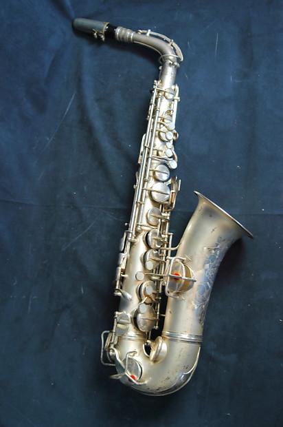 1924 Conn New Wonder Alto Saxophone  | CatalystCreative