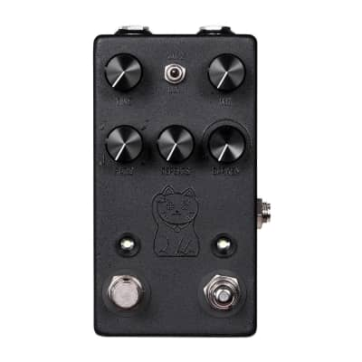 New JHS Lucky Cat Black Guitar Effects Pedal