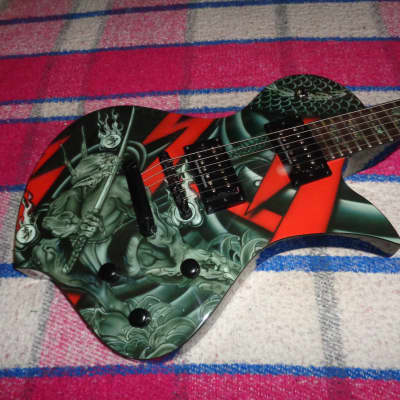 Fernandes Ravelle Deluxe Shin Demon  NEW OLD STOCK 2008 for sale