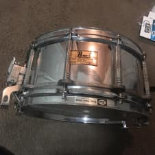 """Pearl Free-Floating 14""""x 7"""" Steel Snare"""
